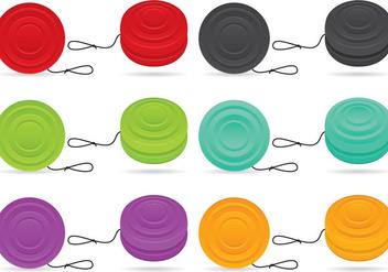 Plastic Yoyo Vectors - Free vector #356745