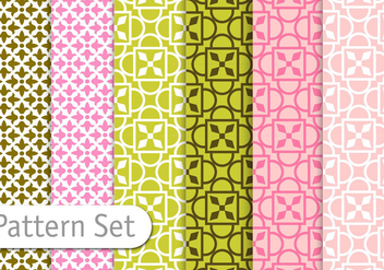 Geometric Pattern Set - vector #356855 gratis