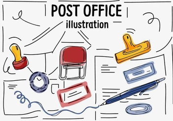 Free Post Office Vector Icons - бесплатный vector #356865