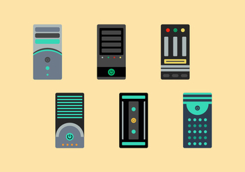 Free CPU Vector Pack - Free vector #356965