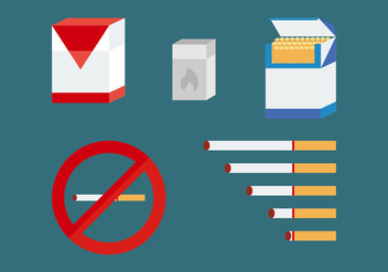 Free Smoking Vector Pack - vector #356975 gratis
