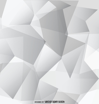 Abstract grey polygonal wallpaper - vector gratuit #357845