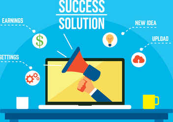 Free Success Solution Vector - Free vector #358135