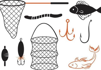 Free Fishing 2 Vectors - vector #358265 gratis