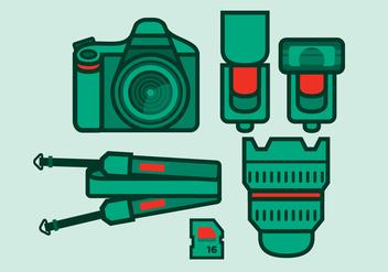 Vector Camera - vector gratuit #358525