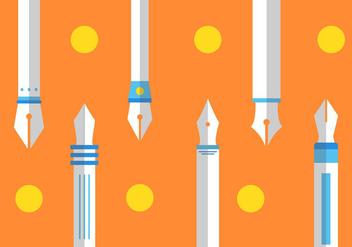 Free Pen Nib Vector #3 - Free vector #358695