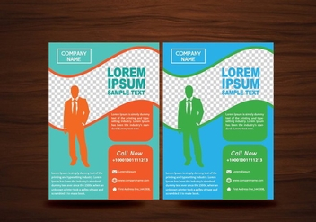 Vector Brochure Flyer Design Layout Vector - vector gratuit #358835