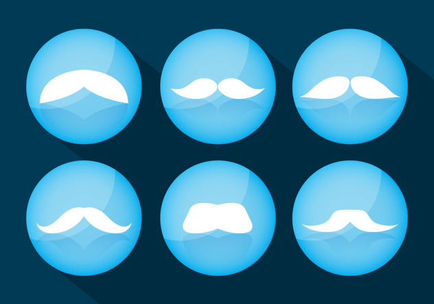 Moustache Vectors Download De Vetor Gratuito 358915 | CannyPic
