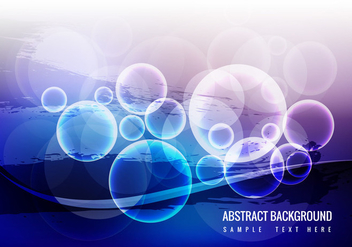 Free Glowing Wave Vector - Kostenloses vector #359035