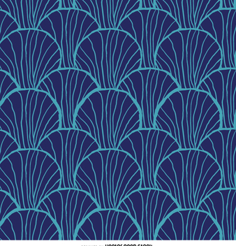 Retro pattern in blue - vector #359075 gratis