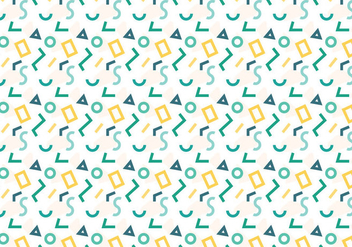Free Geometric Pattern #5 - Kostenloses vector #359245