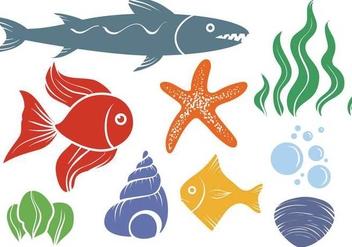 Free Sea Life Vectors - Free vector #359375