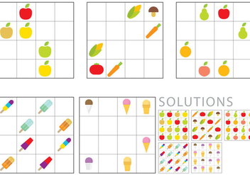 Sudoku For Kids - vector #359515 gratis