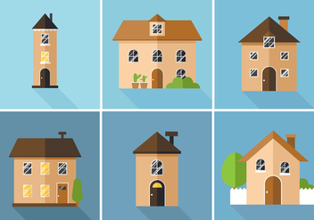 Vector Houses - Free vector #360105