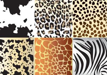 Animal Textures - бесплатный vector #360165