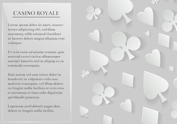 Free Vector Playing Cards Elements Background - Kostenloses vector #360885