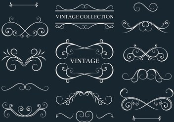 Free Vector Acanthus and Decor Elements - Free vector #360905