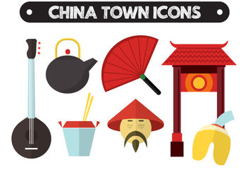 China Vector Icons - vector gratuit #361135