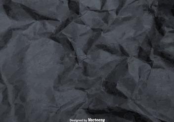 Vector Gray Crumpled Paper Texture - vector #361305 gratis