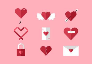 Vector Hearts - Kostenloses vector #362655
