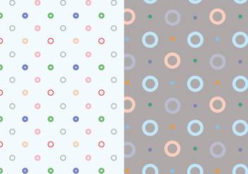 Circle Vector Pattern - vector #362845 gratis