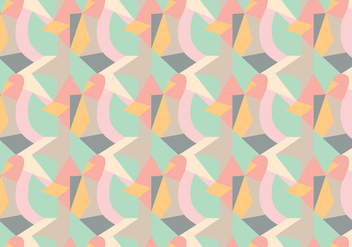 Random Geometric Pattern - vector gratuit #362895