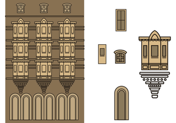 Building in Mumbai - бесплатный vector #362945