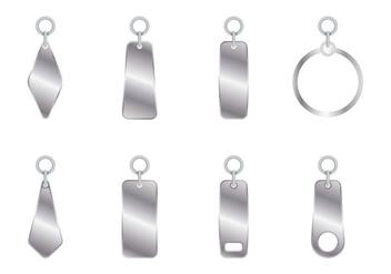 Metal Zipper Pull - Kostenloses vector #363055