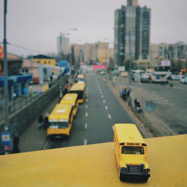 Miniature school bus - Free image #363665