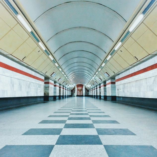 Interior of subway station - Free image #363675