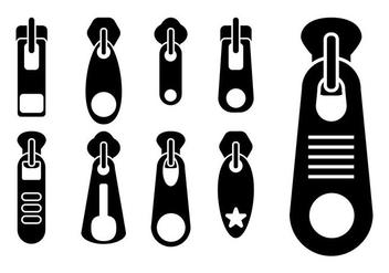 Zipper Pull Vector - Kostenloses vector #364585
