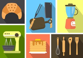 Free Kitchen Icons - Kostenloses vector #364805