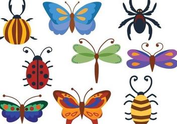 Free Bugs Vectors - Free vector #365125