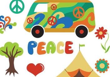 Free Hippie Vectors - Kostenloses vector #365135