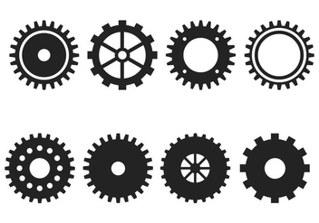 Free Gear Wheels Vector - vector #365675 gratis