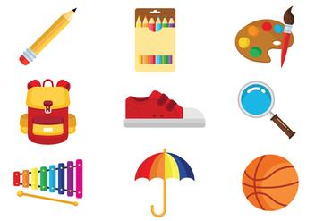 Free Kids Stuff Vectors - vector #365785 gratis