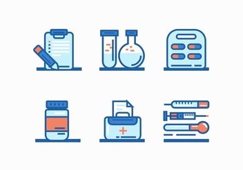 FREE MEDICINE (DOCTOR TOOLS) VECTOR - Kostenloses vector #366065