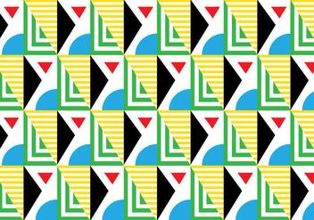 Seamless Retro Bauhaus - Free vector #366585