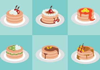 Sweet Pancake Vector - Kostenloses vector #366815