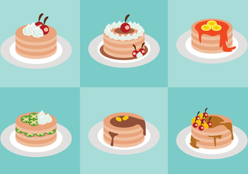 Sweet Pancake Vector - vector #366815 gratis