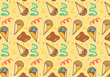 Free Crepes Pattern #4 - Free vector #367055