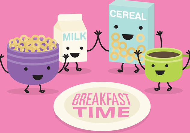 Breakfast Time Vector - Kostenloses vector #367135