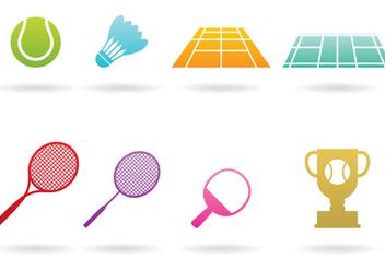 Badminton Logos - Free vector #367215