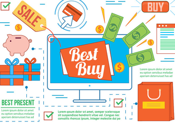 Free Best Buy Vector - vector gratuit #367225