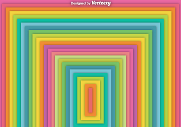 Vector Abstract Square Rainbow Background - Free vector #368015