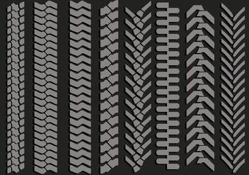Tire Marks Vectors - Free vector #368395