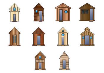 Wooden Shack Vector - Kostenloses vector #368415
