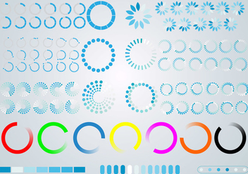 Collection of Preloader - vector #368445 gratis