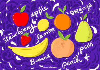Vector Hand Drawn Fruit Illustrations - Kostenloses vector #368695