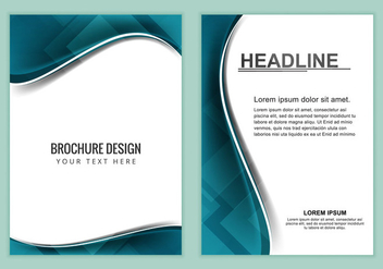 Free Vector Business Brochure - Free vector #369295